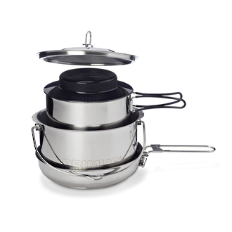 Primus Gourmet Cooking Set, Stainless Steel - 737620