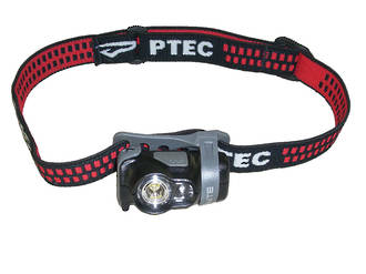 Princeton Tec Byte LED Headlamp, White and Red LED - BYT-BK
