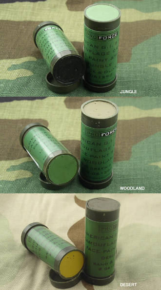 Camcon Camouflage Face Paint Stick - Woodland, Jungle or Desert