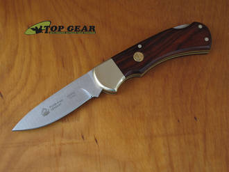 Puma 4-Star Folding Knife with Cocobola Wood Handle - 220705