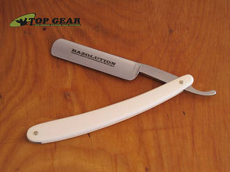 "Simbatec Razolution 5/8"" Straight Carbon Steel Razor - 88102"