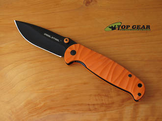 Real Steel Bushcraft and Survival Folder - G10 Handle 7782