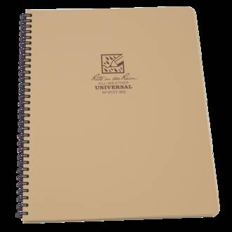 Rite In The Rain All-Weather Side Spiral Notebook - Tan 973T