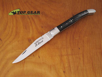 "Robert David Laguiole 4.25"" Pocket Knife - Horn Handle L1511CPR"