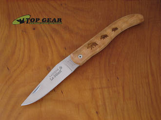 Robert David Laguiole Select Pocket Knife with wooden Handle - MO112OLI