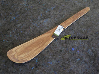 Scanwood Wok Spatula 37 cm, Olive Wood - 666