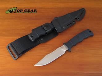 SOG Seal Pup Elite Knife Razor Edge with Kydex Sheath - E37T-K