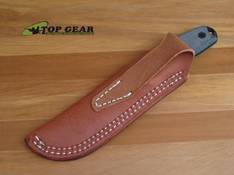 Sharpshooter Large Universal Leather Sheath for ESEE 3 or 4 Knife - SS04