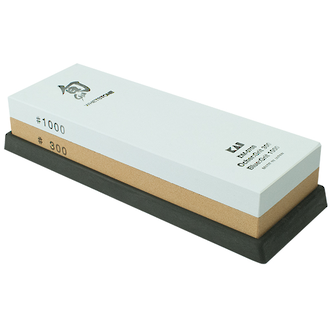 Shun Combination Whetstone, 300/1000 Grit - DM-0708