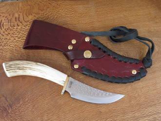 Silver Stag Elk Stick Series Skinner Knife - SSS4.5ES