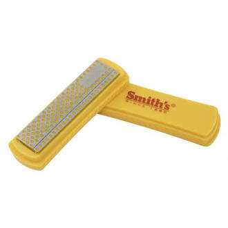 "Smith's 4"" Coarse Diamond Pocket Sharpening Stone - 50924"