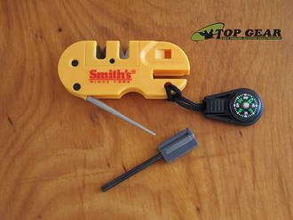 Smiths Pocket Pal X2 Sharpener and Survival Tool - 50364