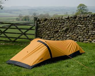 Snugpak Journey Solo One Person Bivvi Tent - Sunburst Orange 96001