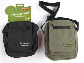 Snugpak Passport Deluxe Pouch, Black - 97260