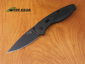 SOG Aegis Assisted Opening Knife, Black - AE02-CO
