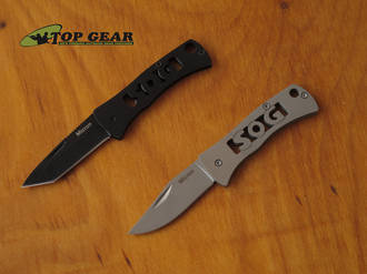 SOG Micron 2.0 Pocket Knife, Tanto or Clip-Point