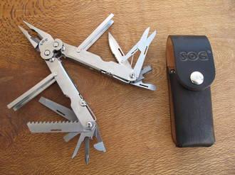 Sog Powerlock Multi-Tool, Stainless - S60-L