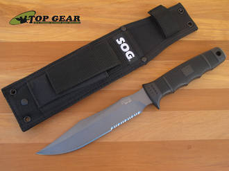 SOG Seal TEAM Tactical Knife with Nylon Sheath - S37-N