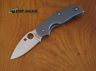 Spyderco Sage II Titanium Knife - CPM S30V Stainless Steel C123TIP