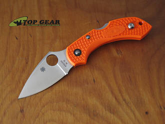 Spyderco Dragonfly 2 Pocket Knife, Orange - C28POR2