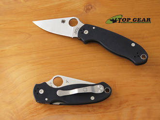 Spyderco Para 3 Folding Knife, CPM S30V Stainless Steel - C223GP
