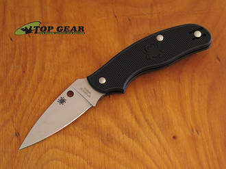 Spyderco Spy-DK Slip-Joint Pocket Knife N690 Stainless Steel - C179PBK
