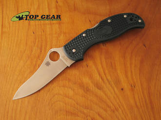 Spyderco Stretch Flat Ground Folder, ZDP-189 Steel - C90PGRE2