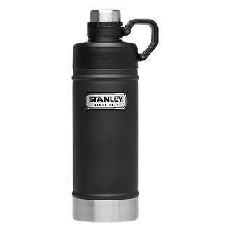 Stanley Classic Vacuum Water Bottle, 532ml Matte Black - #10-02105-002