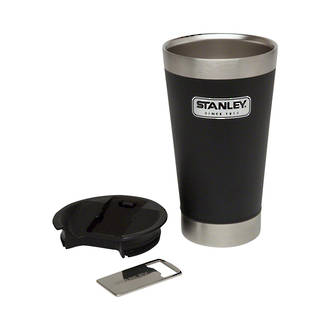 Stanley Classic Vacuum Insulated Cold Beer Pint, Matte Black - 473 ml