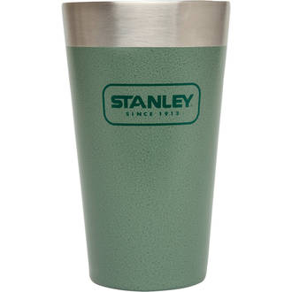 Stanley Classic Vacuum Insulated Stacking Tumbler, Hammertone Green - 16 oz. (473ml)