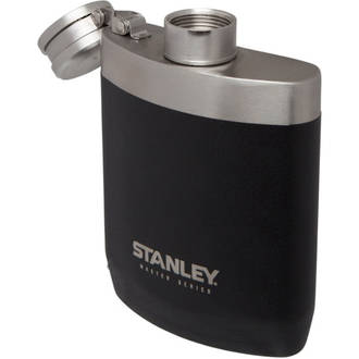 Stanley Master Series Hip Flask, Black, 8 oz. (236ml) - 10-02892-001