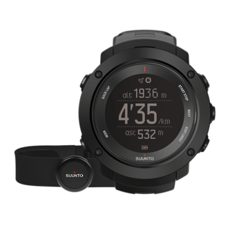 Suunto Ambit3 Vertical GPS Watch with Heart Rate Monitor - Black SS021964000