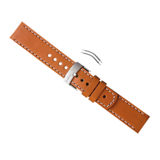Suunto Elementum Terra Ventus Strap Kit - Brown Leather SS014825000