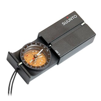 Suunto MB-6 Global Matchbox Compass - SS014889000