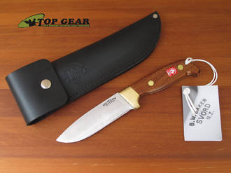 Svord Deluxe 4 ¾ Drop-Point Knife with Mahogany Handle - 370BB