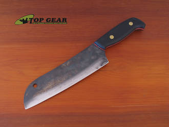 Svord Kiwi Santoku Chef's Knife with High Carbon Steel Blade - SKU