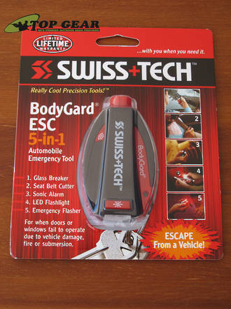 Swiss+Tech Bodygard ESC 5-in-1 Auto Emergency Tool - BGCSBK-ESC
