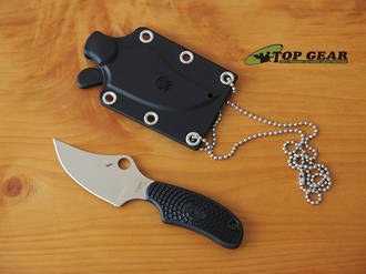 Sypderco Ark Fixed Blade Neck Knife - FB35PBK