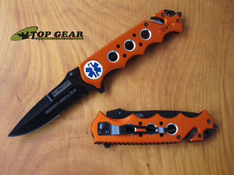 Tac-Force Emergency Rescue Services Knife - TF-611EMO