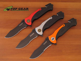Tac-Force Tactical Rescue Knife with Speedster Assisted Opening