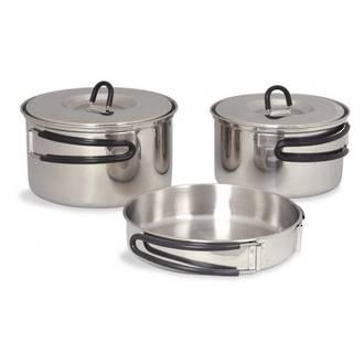 Tatonka Regular Stainless Steel Cookset - 4000