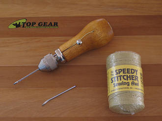The Speedy Stitcher Sewing Awl Kit - 250 Deluxe