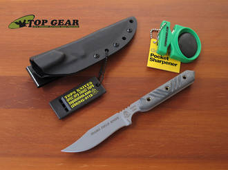 Tops Idaho Field Knife - 440C Stainless Steel - IFK-208