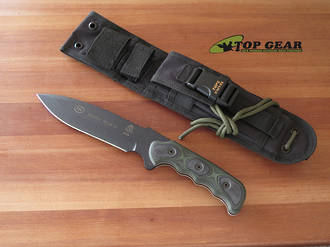 Tops Mission Team 21, Fixed Blade, Fine Edge - MT-21