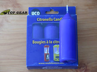 UCO 9-Hour Citronella Candles for UCO Candle Lantern or Candelier, 3-Pack - L-CAN3PK-C