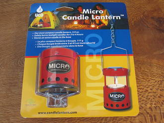 UCO Micro Candle Lantern, 4 Colours  - B-LTN-STD