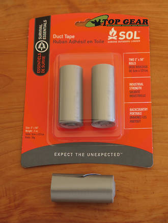 Ultimate Survival Technologies SOL Mini Duct Tape, 2-Pack - 4340-1005
