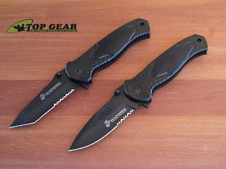United Cutlery Marines Combat Field Folder - Tanto Or Drop-Point