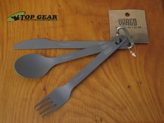 Vargo Titanium Ultralight Cutlery Set - Ultralight Version 00216