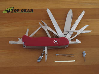 Victorinox Workchamp Swiss Army Knife, Red - 0.8564